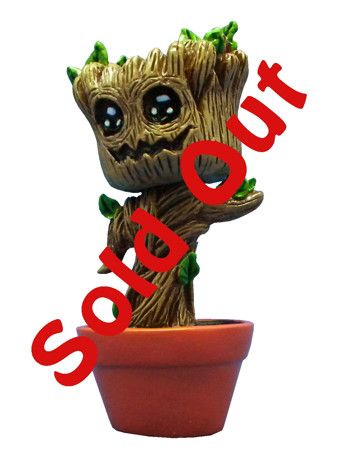 SOLD OUT 80-Terracotta Pot - Baby Grouchi Dancing