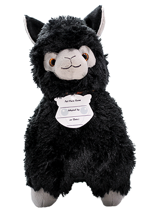 Licorice Paca Plush